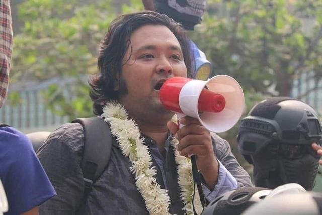 Myanmar bắt thủ lĩnh biểu tình - 1