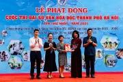 Phát động cuộc thi Đại sứ văn hoá đọc Hà Nội 2021