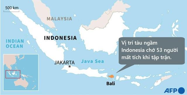 Phát hiện vật thể khả nghi, Indonesia dốc toàn lực tìm tàu ngầm mất tích - 2
