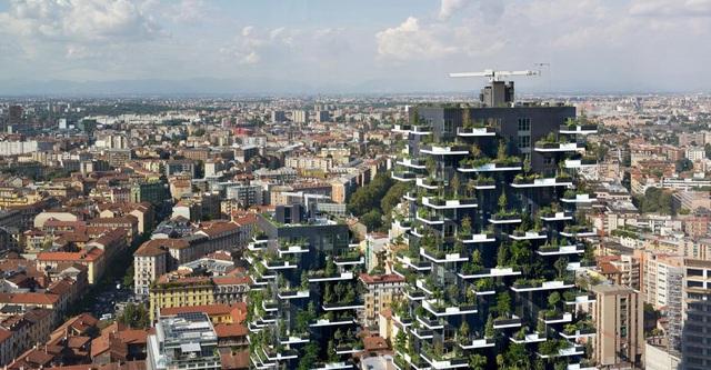 Ngỡ ngàng chung cư phủ kín cây xanh, dân về nhà như đi nghỉ dưỡng - 5