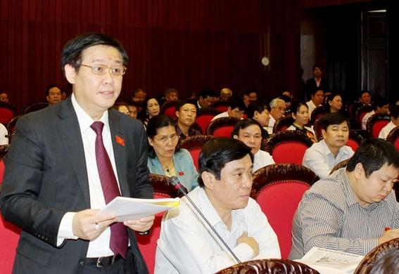 Hôm nay, miễn nhiệm Bộ trưởng Tài chính Vương Đình Huệ