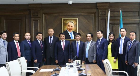 PVN sắp có những hợp tác quan trọng với dầu khí Kazakhstan
