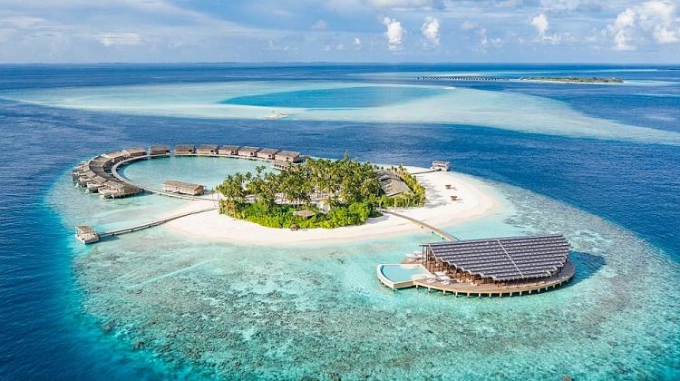resort nang luong mat troi giua thien duong maldives
