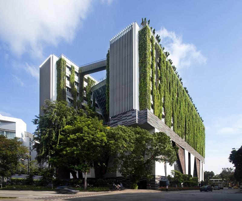 nhung cong trinh xanh an tuong o singapore