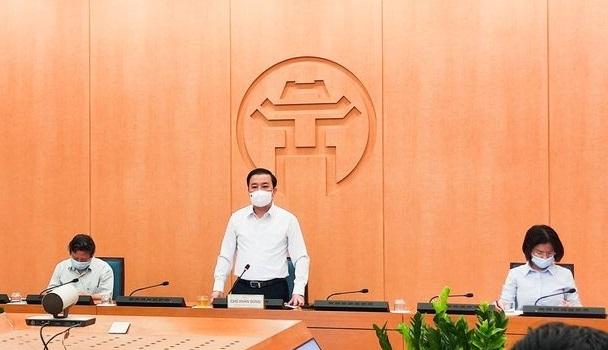 Phó Chủ tịch UBND TP Chử Xuân Dũng phát biểu tại phiên họp số 109