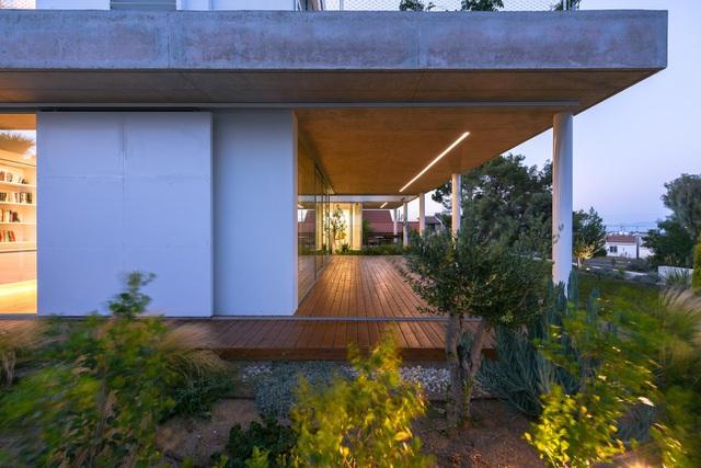 Ngôi nhà giữa thành phố có cả chục khu vườn lớn, nhỏ từ ngoài vào trong - 5