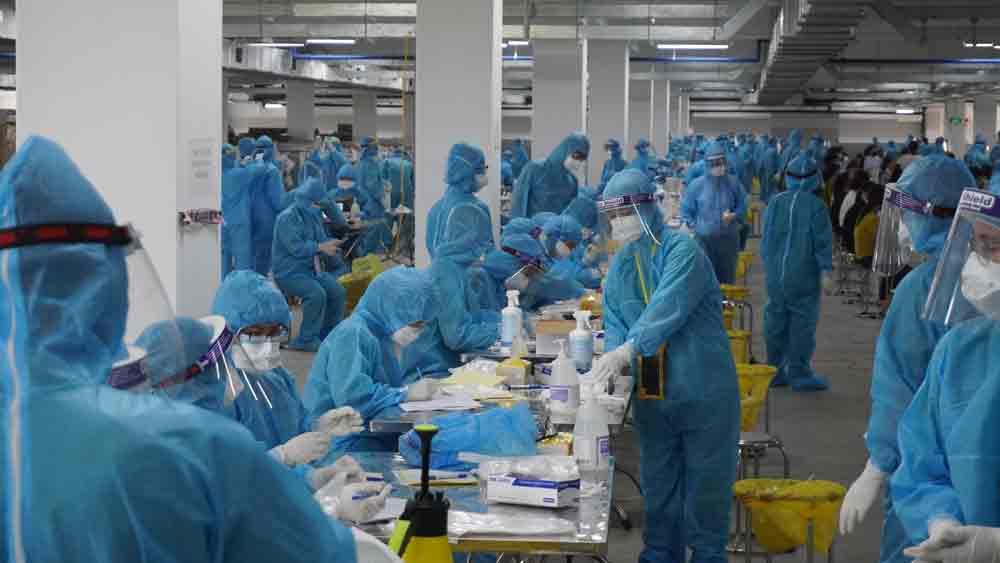 Xuất hiện ca nhiễm COVID-19 mới trong khu công nghiệp, Hải Dương khẩn cấp ứng phó