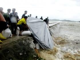 Bão gây thiệt hại nặng ở các tỉnh ven biển miền Bắc