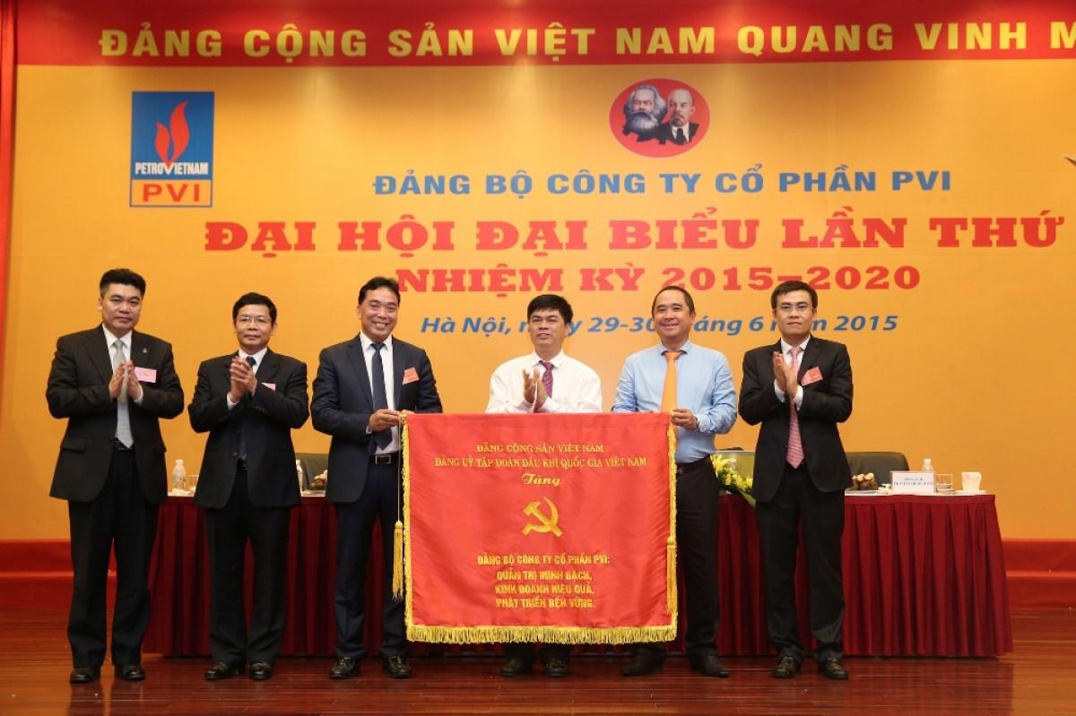 Đại hội Đảng bộ PVI lần thứ V, nhiệm kỳ 2015 - 2020