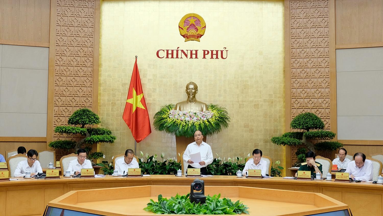 thu tuong chu tri phien hop chinh phu thuong ky thang 52018