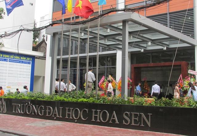 ĐH Hoa Sen đề xuất hiệu trưởng mới