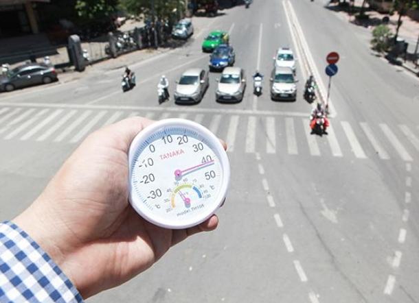 Nắng nóng gay gắt kéo dài 10 ngày ở Bắc và Trung Bộ