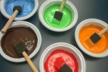 Năng lượng sạch từ… sơn