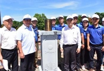 Khánh thành trạm đo mưa tại di tích thiên văn cổ duy nhất ở Việt Nam