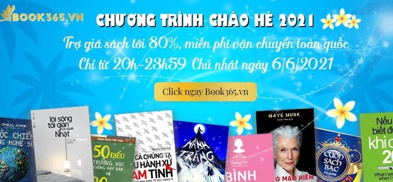 Các tựa sách được trợ giá tới 80% tại Book365 vào tối 6/6
