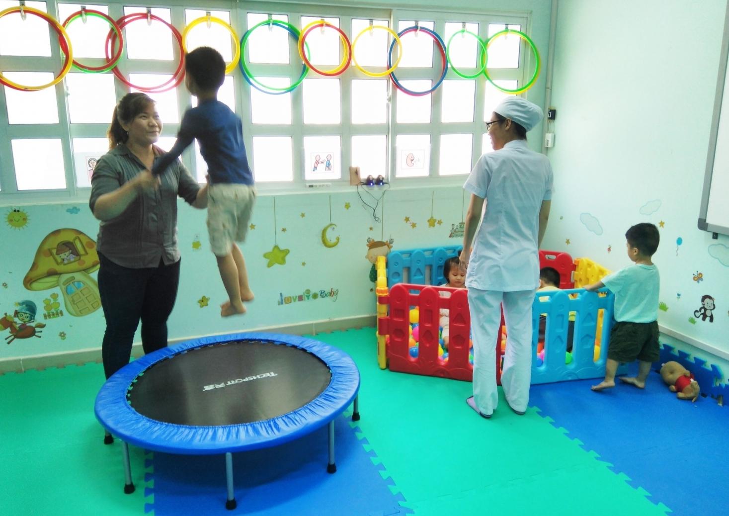 Nơi mở ra tương lai cho trẻ tự kỷ