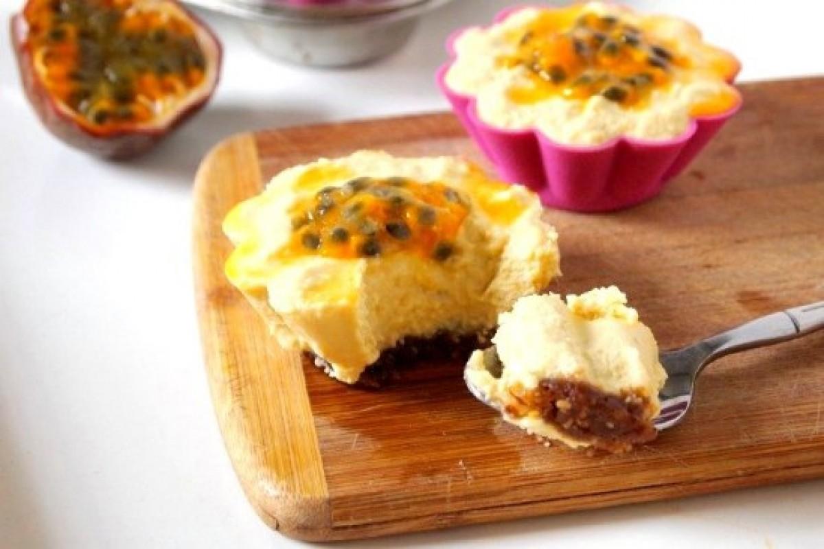 cheesecake chanh leo cho thuc don giam can