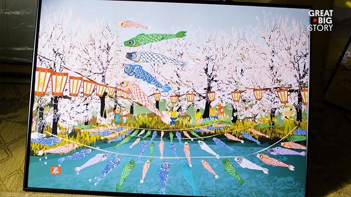 Khó tin: Họa sỹ Nhật Bản vẻ tranh bằng chương trình Microsoft Excel - ảnh 3.