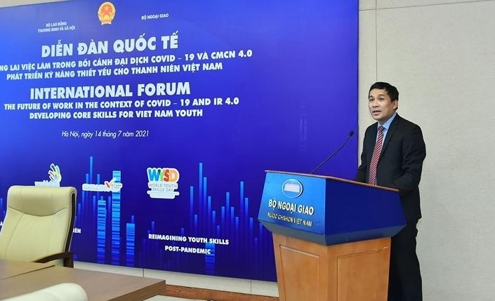 Bài phát biểu của Thứ trưởng Nguyễn Minh Vũ tại hội thảo quốc tế về tương lai việc làm cho thanh niên