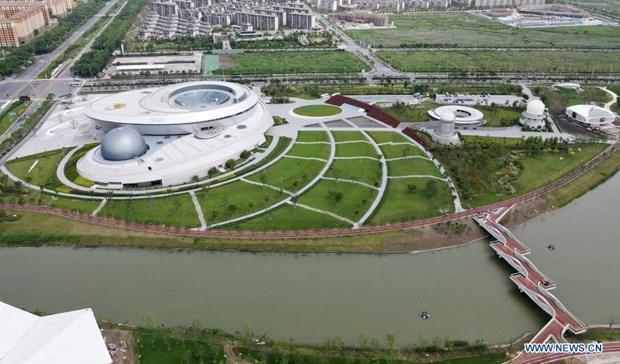 Toàn cảnh Bảo tàng Thiên văn học lớn nhất thế giới - Ảnh: Tân Hoa xã