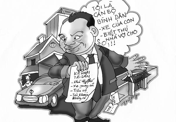 Quan chức siêu giàu do tham nhũng?