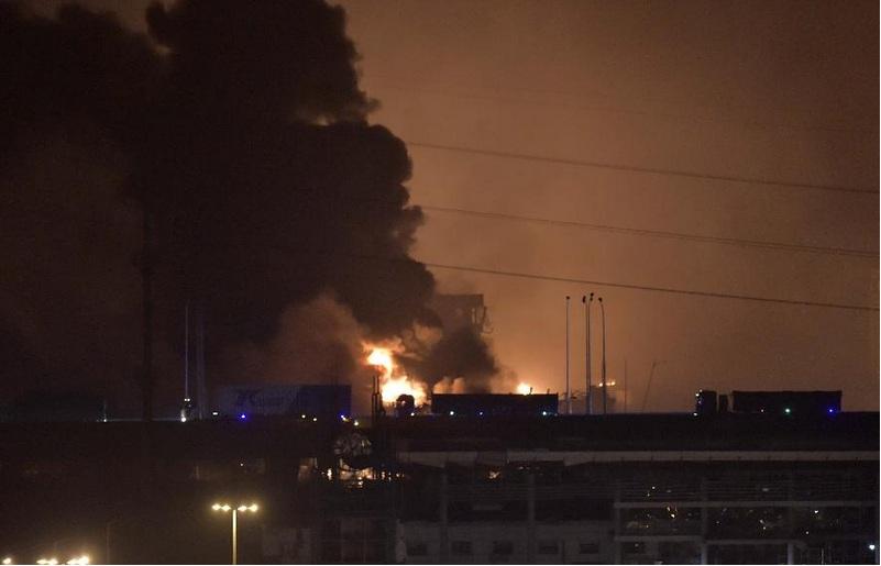 Hỏa hoạn, hóa chất, nổ lớn