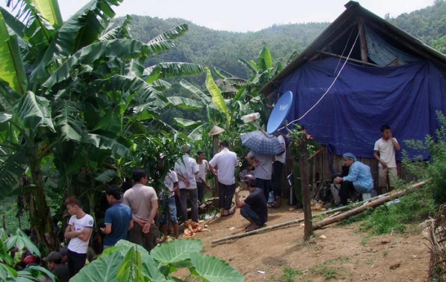Hàng trăm cảnh sát truy bắt hung thủ vụ thảm án ở Yên Bái