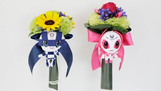 Ý nghĩa đặc biệt của bó hoa tặng các VĐV giành huy chương tại Olympic 2020 - 2