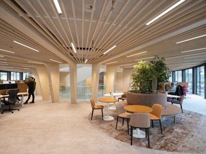 Ấn tượng văn phòng thân thiện với môi trường, có thể tháo rời tái sử dụng - 2