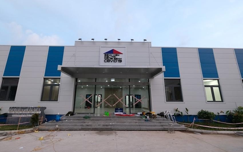 """Hà Nội: Bệnh viện dã chiến Hoàng Mai """"chạy nước rút"""" để hoàn thiện"""