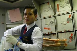 tiep vien vietnam airlines dep trai chua