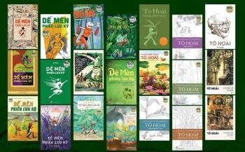 Ra mắt bộ 21 ấn phẩm nhân 100 năm ngày sinh nhà văn Tô Hoài