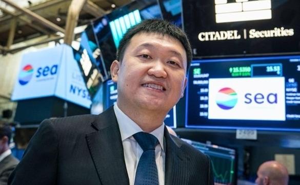 Tỉ phú mới của Singapore là nhà sáng lập công ty mẹ Shopee