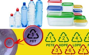Đừng bao giờ sử dụng chai hộp nhựa có ký hiệu 3, 6, 7 để đựng nước và thực phẩm, đây là lý do tại sao