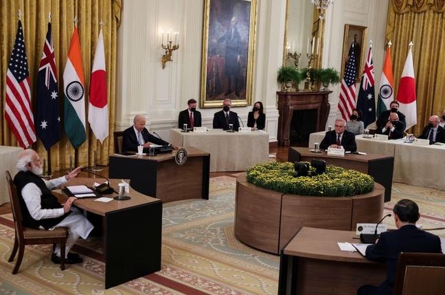 """""""Bộ Tứ"""" họp tại Nhà Trắng, cam kết hợp tác nhiều vấn đề quan trọng"""