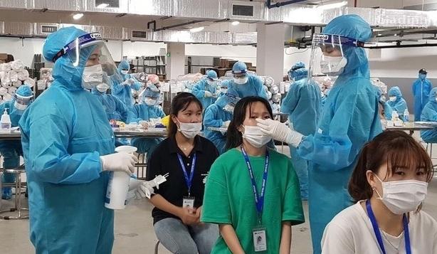 Không cần xét nghiệm Covid-19 đối với người lao động đã tiêm 2 mũi vắc xin