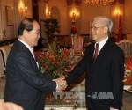 Tổng Bí thư Nguyễn Phú Trọng tiếp đoàn đại biểu Hội hữu nghị Hàn - Việt