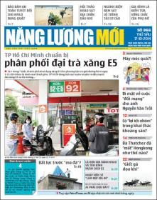 Đón đọc Báo Năng lượng Mới số 366, phát hành thứ Sáu ngày 17/10/2014