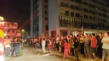Hỏa hoạn tại khu đô thị Linh Đàm