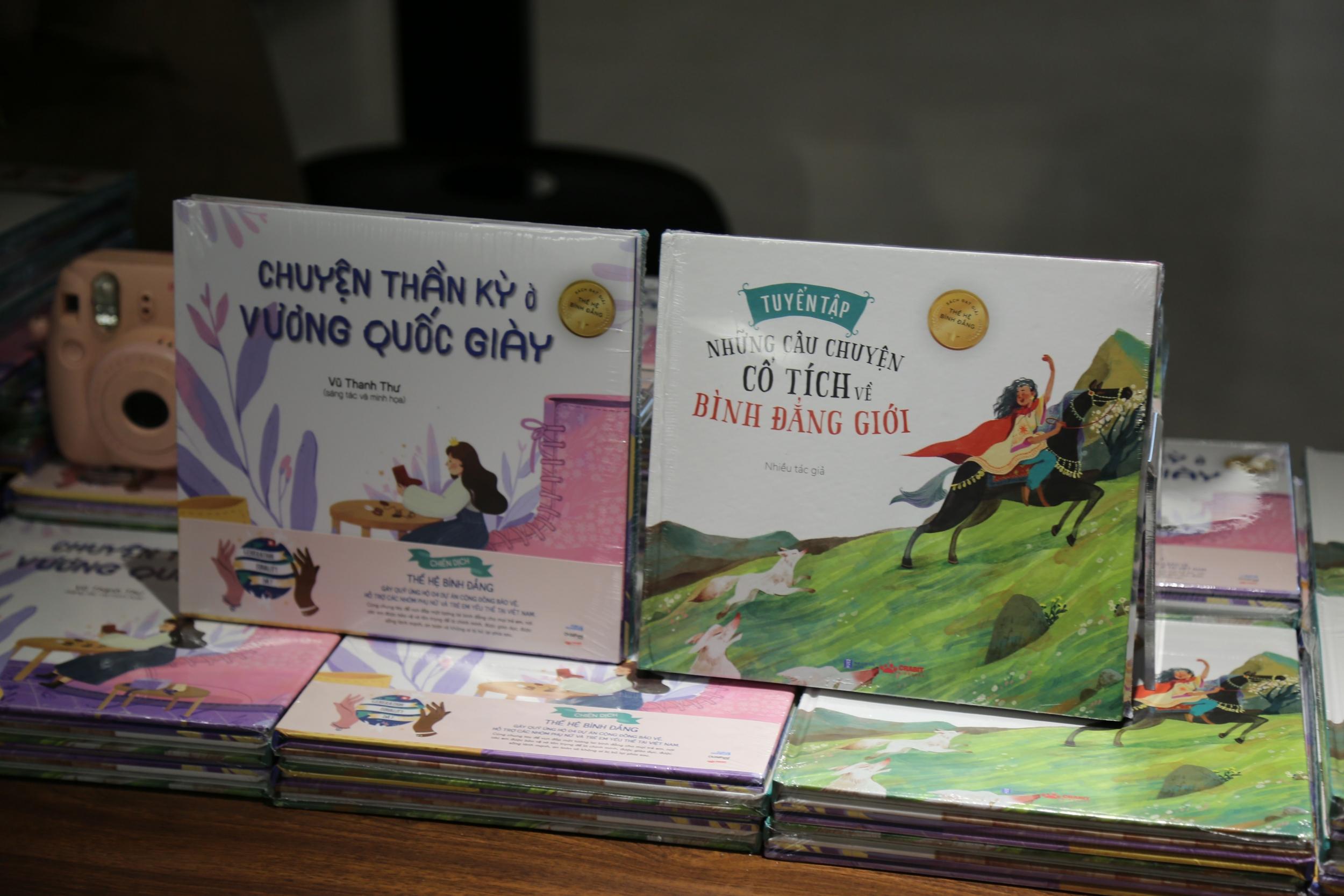 Bộ sách về bình đẳng giới đầu tiên tại Việt Nam dành cho thiếu nhi