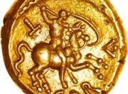 Đồng tiền vàng hơn 2.000 năm tuổi có giá hơn 900 triệu đồng