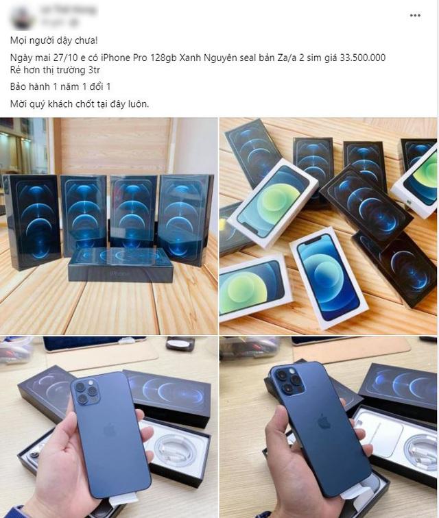 iPhone 12 Pro mất giá gần 7 triệu đồng sau 3 ngày về Việt Nam - 1