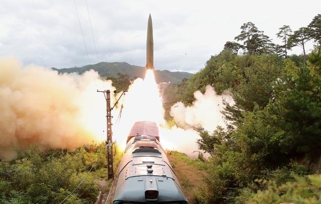 Triều Tiên phóng thử tên lửa phòng không mới