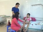 Nhà ngoại cảm Phan Thị Bích Hằng đến thăm cô dâu của