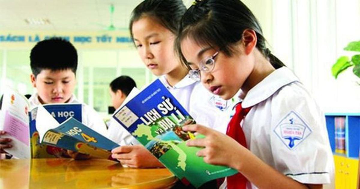 Bộ GD&ĐT: Sẽ lấy ý kiến xã hội trước khi công bố sách giáo khoa lớp 2