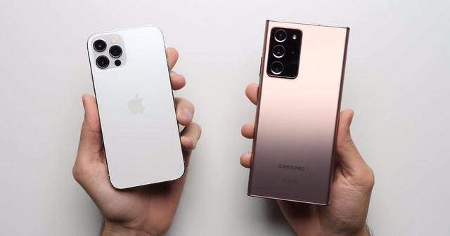 """Samsung lần đầu """"đánh bại"""" Apple trên đất Mỹ kể từ năm 2017 - 1"""