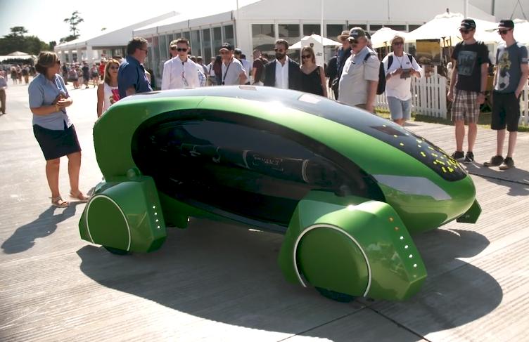 Robot giao hàng sử dụng trí tuệ nhân tạo