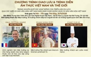 Giao lưu ẩm thực Việt Nam và thế giới