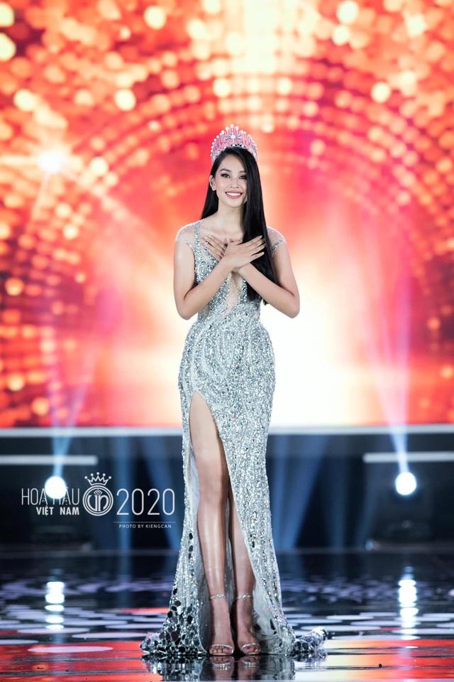 Trần Tiểu Vy nói gì về tân Hoa hậu kế nhiệm? - 1
