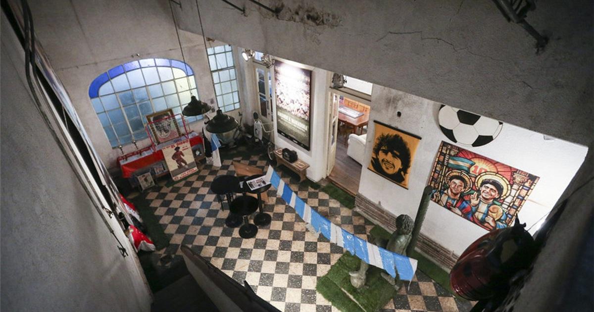 Bất ngờ căn nhà giản dị của huyền thoại Maradona thuở chưa nổi tiếng